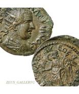Valériane I XF Macedon Thessalonika Mint Victoire Ancien Romain Empire C... - $314.08