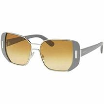 New Prada Sunglasses PR59SS UR91G0 54mm Grey Silver Square PR59 PR 59 Genuine - $186.30