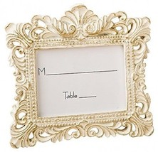 Vintage Style Baroque Design Placecard Holder Or Picture Frame By Fashio... - $13.16