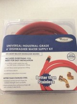 Whirlpool W10278627RP 6-Feet Universal Dishwasher Hose Kit - $12.19