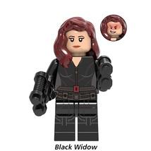Black Widow with Guns Marvel Avengers (2012) Endgame Lego Minifigures Gift New - $1.99