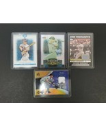 Lot (4) David Wright Baseball Cards Numbered or Game Used Jerseys Topps ... - $32.71