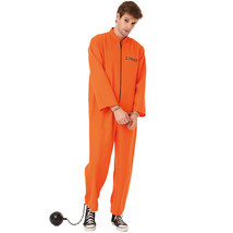 Conniving Convict Adult Costume, L - $33.95