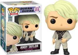 Duran Duran Band Andy Taylor Music POP! Vinyl Figure Toy #127 FUNKO NEW MIB - $12.55