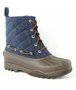 New Women's Paul Sperry Gosling Duck Waterproof Quilted Top Rubber Boots... - $33.95