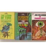 Jack Williamson Legion of Time/Cometeers/Pandora Effect 1sts 1960s - $15.00