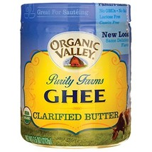 Purity Farms Organic Ghee Clarified Butter, 7.5 Ounce Pack of 6