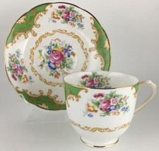 Royal Albert Albany Green Cup & Saucer - $30.00