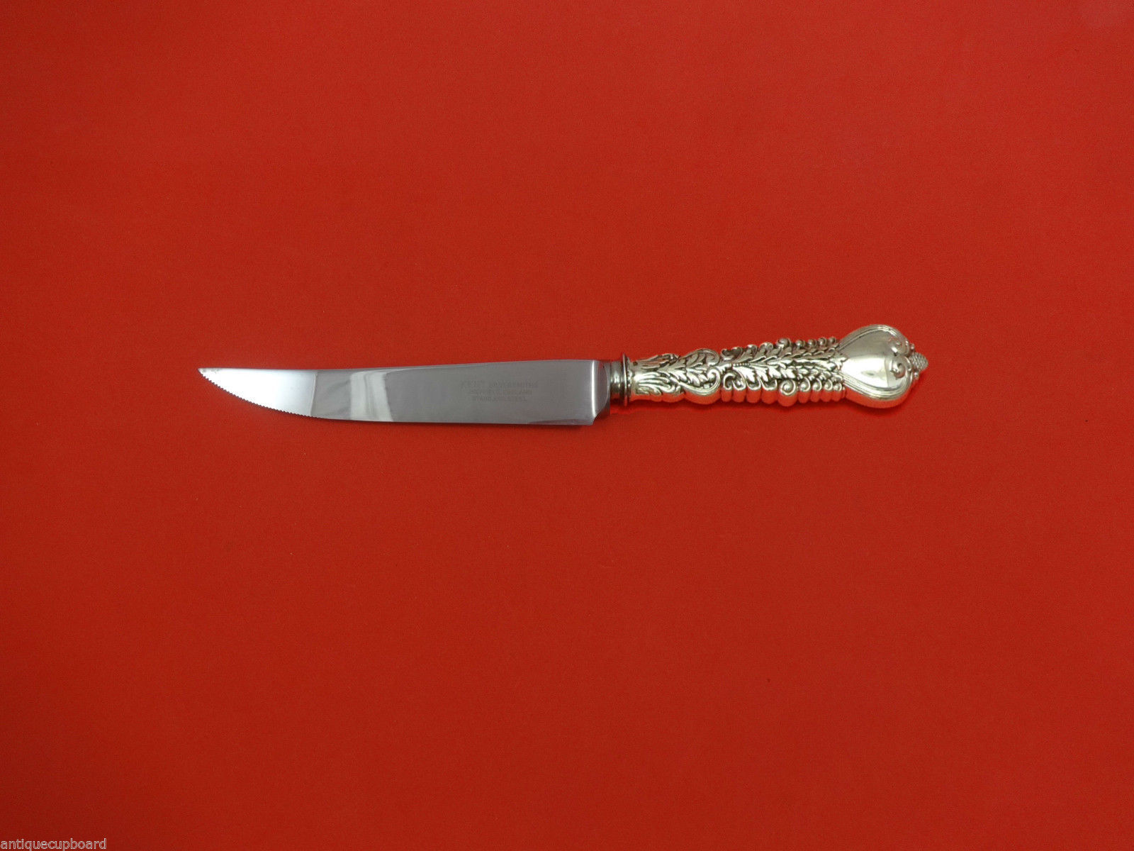 "Primary image for Florentine by Tiffany & Co. Sterling Silver Steak Knife 8 1/2"" HHWS  Custom Made"