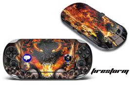 Skin Decal Wrap Sticker Mod For Sony Play Station Ps Vita System - Firestorm - $6.96