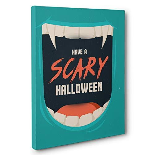 Primary image for Have A Scary Halloween Canvas Wall Art