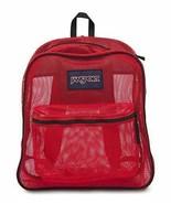 JanSport Mesh Pack Backpack High Risk Red - $29.69