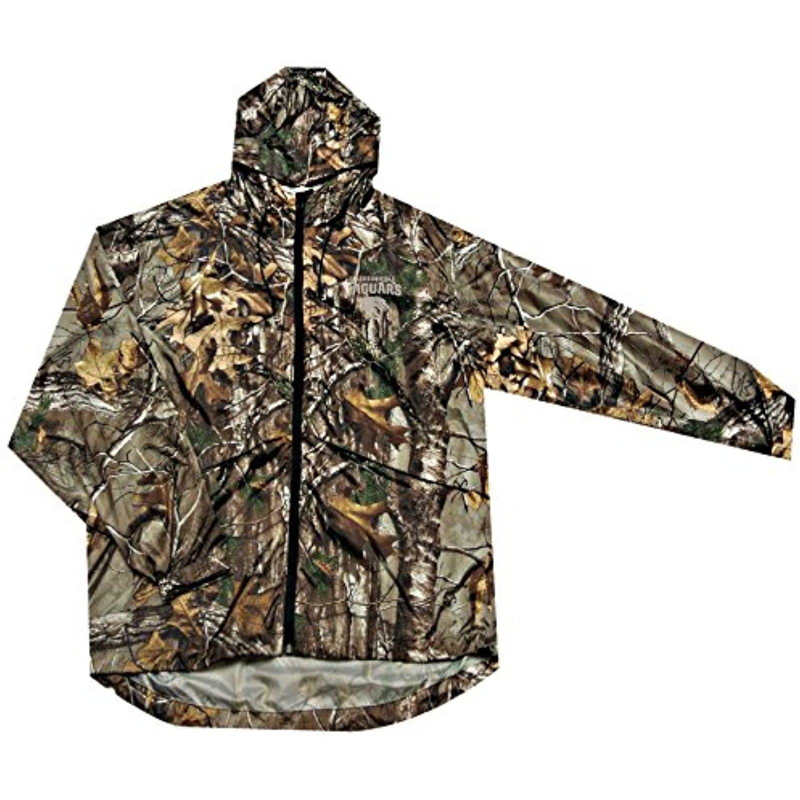 NFL Jacksonville Jaguars Sportsman Windbreaker Jacket, Real Tree Camo, Large
