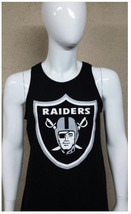 Classic Raiders Logo Tank Top / Oakland CA Football NFL - $17.99+
