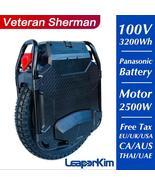 2021 LeaperKim Veteran Sherman Electric Unicycle 100.8V 3200WH Monowheel 2500W O - $5,698.10