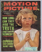 ORIGINAL Vintage December 1962 Motion Picture Magazine Caroline Kennedy - $19.79
