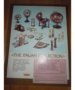 Vintage The Italian Collection The Holiday Shopper Print Magazine Advert... - $2.99