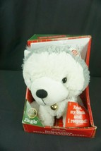 Hallmark Interactive Storybook, Plush Buddy Jingle,Jingle All The Way Bo... - $35.95