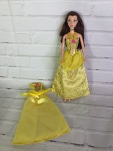 Mattel Disney Princess Beauty and the Beast Belle Doll With Extra Dress 2006 - $14.25