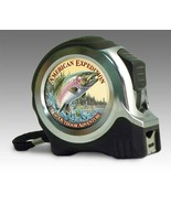 American Expedition Rainbow Trout Fish 25 ft Tape Measure NIB Men's Fath... - $21.67