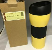 Longaberger Stainless Steel Travel Mug - New - Butternut - $17.64