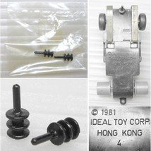 2 1981 Ideal Toys HO Slot Car Guide Pins New Old Stock RaRe Odd Parts - $5.93