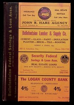Polk's 1964 Bellefontaine Ohio City Directory With Classified & Buyers G... - $17.05