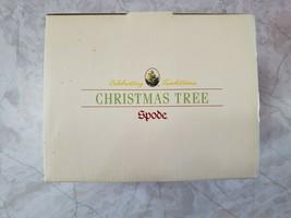 """New Spode Christmas Tree Salt & Pepper Shakers Santa Tree 5""""  - $29.95"""