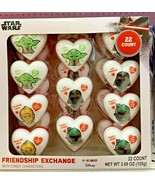 Star Wars Valentine's Day Friendship Exchange 22 Count Hearts with Candy - $18.99