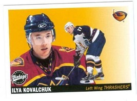 Ilya Kovalchuk hockey card 2002 Upper Deck Vintage #13 (Thrashers - New ... - $4.00