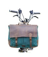 2017 Exclusive Messenger Bag for BROMPTON Canvas / Leather + Shoulder Strap - $122.91