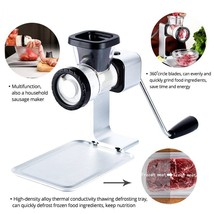 Fypo® Manual Meat Grinder Blender Chopper Unfreeze Board Beef Cutter Sli... - $82.19