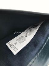 Levis Jeans Mens 511 Slim Navy Blue Genuine Leather Wallet Billfold Bifold Card image 8