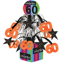 Milestone Celebrations Mini Cascade Centerpiece with Base 60th, Case of 6 - €27,68 EUR