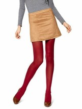 Hue  Opaque Control Top Tights (Red, S) - $13.90