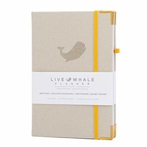 Live Whale, Weekly and Monthly Personal Organizer. The Look And Feel Of Linen -