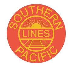 Southern Pacific Railroad Sticker Tool Box Locker R30 Choose Size From Dropdown - $1.45+