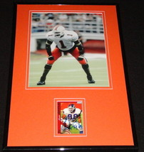 Jesse Armstead Signed Framed 11x17 Photo Display Miami NY Giants - $45.45