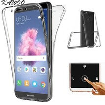 360 Degree Full Body Case For Huawei P Smart Front&Back Protection TPU Soft Sili - $9.26
