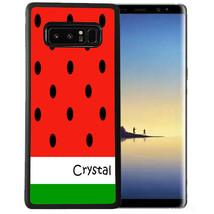 Personalized Case Fits Samsung Note 9 7 5 4 Watermelon Summer Time - $13.98