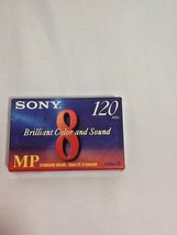 Sony Video 8 P6 120 MP Camcorder Video Tape 8mm 120 Minutes Factory Sealed - $7.99