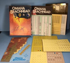 Omaha Beachhead Battle for the Bocage - Victory Games 1987 Unpunched COM... - $44.54