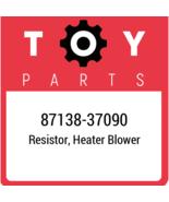 87138-37090 Toyota Resistor Blower, New Genuine OEM Part - $23.47