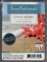 Coral Shores ScentSationals Scented Wax Cubes Tarts Melts Potpourri Candle - $3.50