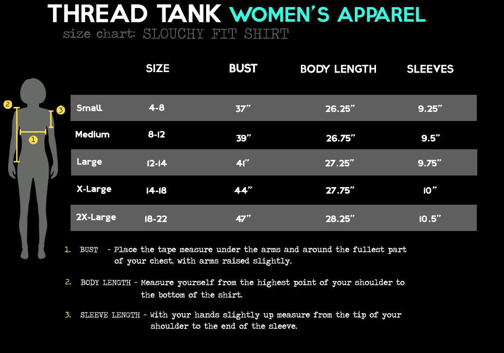 Thread Tank Paper Airplanes Women's Slouchy Dolman T-Shirt Tee Heather Grey