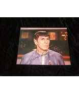Star Trek Mr Spock Leonard Nimoy Autographed Photo - $29.99