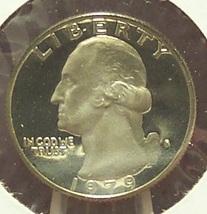 1979-S Washington Deep Cameo Proof Quarter Typ 1 #0672 - $3.99