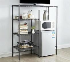 NEW College Dorm Room Adjustable Steel Shelf Storage TV Microwave Fridge... - $139.99