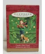 Hallmark Keepsake Ornament QX8354 Caroler's Best Friend Hound Dog with B... - $8.99