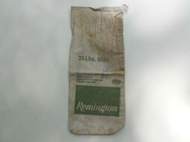 Vintage Canvas Bag  Remington Shot  25 lb. Empty Dupont - $6.93